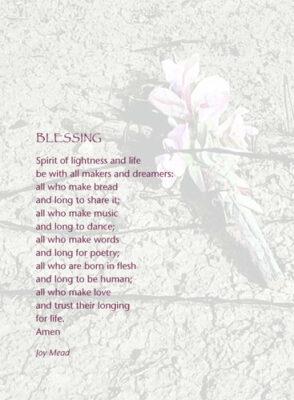 Blessing 1 (Spirit of lightness and life)