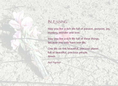 Blessing 4 (May you live a rich life full of passion)