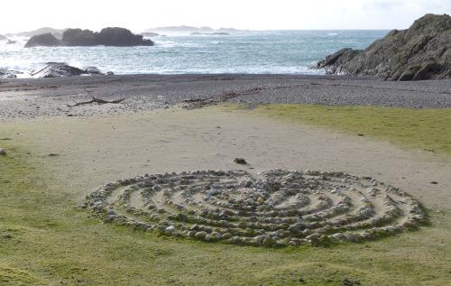 Labyrinth at St Columba's Bay