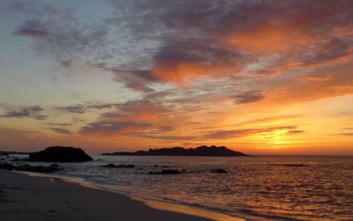 Sunset at North End, Iona