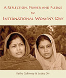 A Reflection, Prayer and Pledge for International Women's Day download