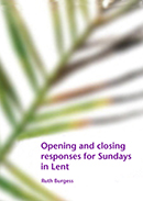 Opening and closing responses for Sundays in Lent download